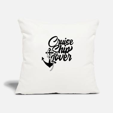 "Best Captain Cruise Ship Cruising Holiday Vacation - Throw Pillow Cover 18"" x 18"""