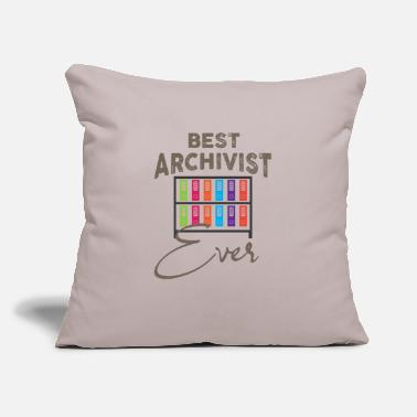 "Archivist Archivist - Throw Pillow Cover 18"" x 18"""