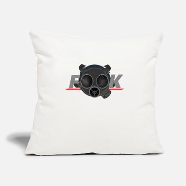 "Rainbow Six Siege Facemask fook art game rainbow six siege - Throw Pillow Cover 18"" x 18"""