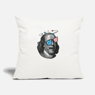 "Benedikt ben drankin - Throw Pillow Cover 18"" x 18"""