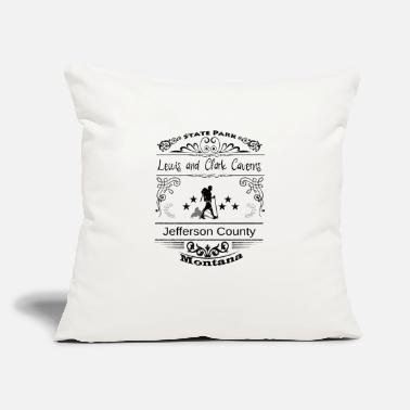 "Jefferson Lewis and Clark Caverns State Park Montana - Throw Pillow Cover 18"" x 18"""