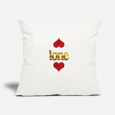 "Ion Ione - Throw Pillow Cover 18"" x 18"""