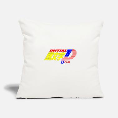 "Initial-d Initial D USA - Throw Pillow Cover 18"" x 18"""
