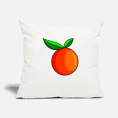"Fruit Images Of Orange Fruit Image - Throw Pillow Cover 18"" x 18"""