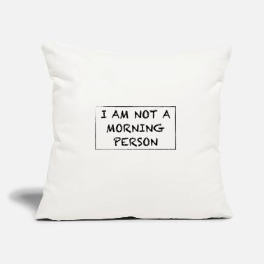 Morning MORNING - Throw Pillow Cover