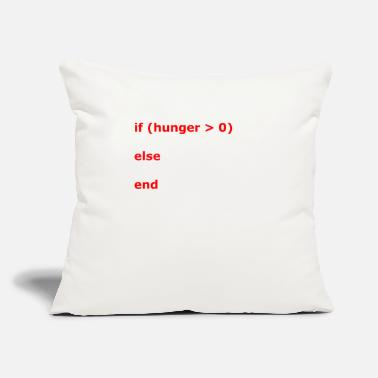 Hunger Coding If Hunger - Throw Pillow Cover