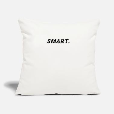 "Smart Apparel Smart - Throw Pillow Cover 18"" x 18"""