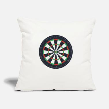 "Dartboard Dartboard - Throw Pillow Cover 18"" x 18"""