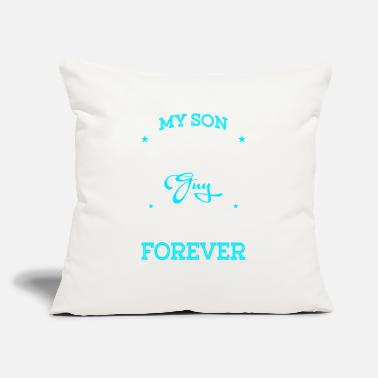 "Father And Son Superman My Son Is Totally My Most Favorite Guy T Shirt - Throw Pillow Cover 18"" x 18"""