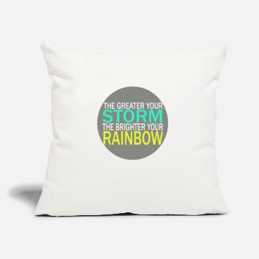 "Storm STORM - Throw Pillow Cover 18"" x 18"""