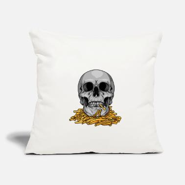 "Mc Mc Fries - Throw Pillow Cover 18"" x 18"""