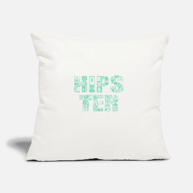 "Hipster HIPSTER - Throw Pillow Cover 18"" x 18"""