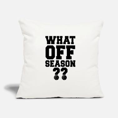 "Games What Off Season?? - Throw Pillow Cover 18"" x 18"""