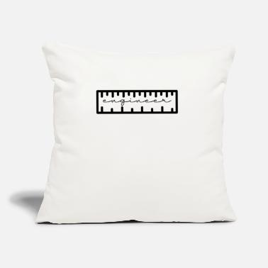 "Genius Engineer Engineer Genius Wizard Warlock - Throw Pillow Cover 18"" x 18"""