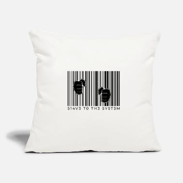 "Slave Female Slave system slave break of the system - Throw Pillow Cover 18"" x 18"""