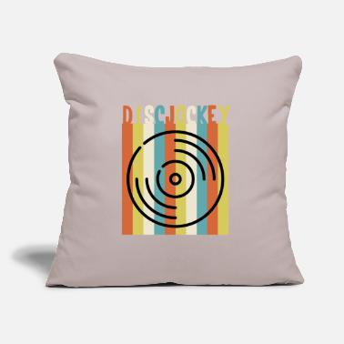 "Deejay Deejay - Throw Pillow Cover 18"" x 18"""