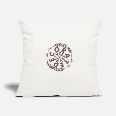 "Decoration Decorate - Throw Pillow Cover 18"" x 18"""