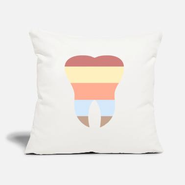 "Tooth The Tooth - Throw Pillow Cover 18"" x 18"""