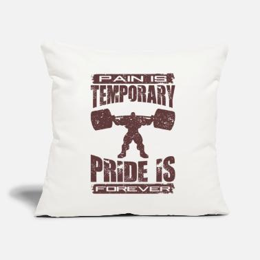"Muscle muscle - Throw Pillow Cover 18"" x 18"""