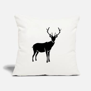 "Stag stag - Throw Pillow Cover 18"" x 18"""