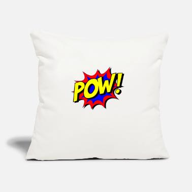 "Comical Comic - Throw Pillow Cover 18"" x 18"""
