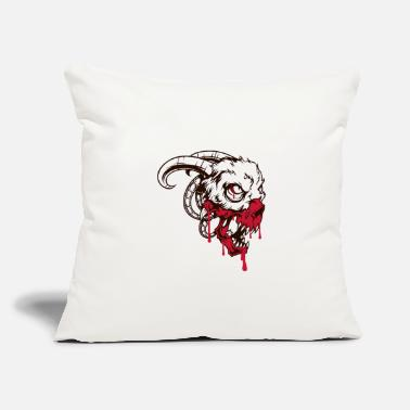 "Bloody bloody demon - Throw Pillow Cover 18"" x 18"""