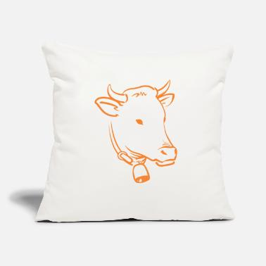 "Cow dairy cows - Throw Pillow Cover 18"" x 18"""