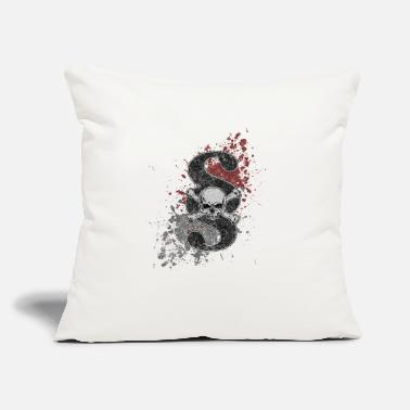 "Paragraph jolly roger paragraph symbol - Throw Pillow Cover 18"" x 18"""