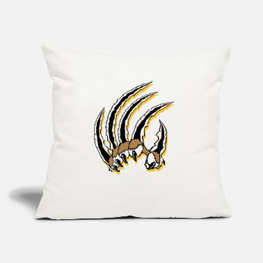 "Claw Claws - Throw Pillow Cover 18"" x 18"""