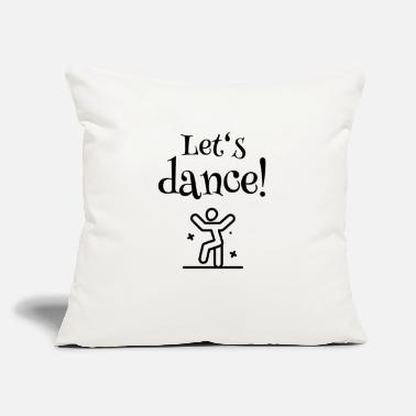 "Lets Have A Party Let's have a Party - Let's dance - Throw Pillow Cover 18"" x 18"""