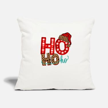 "Ho Christmas Santa Ho Ho Ho Christmas - Throw Pillow Cover 18"" x 18"""