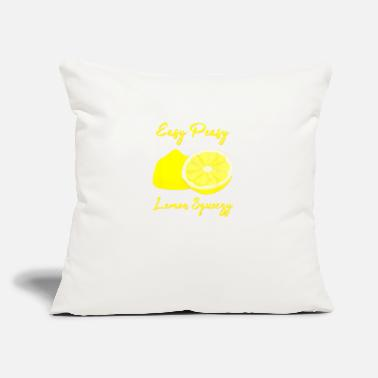 "Lemon lemon tshirt lemon print dress lemon print lemons - Throw Pillow Cover 18"" x 18"""
