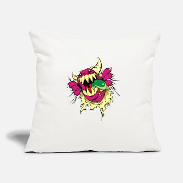 "Monster monster - Throw Pillow Cover 18"" x 18"""