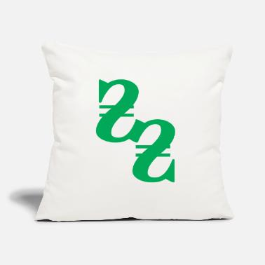 "Moneygrubbing money - Throw Pillow Cover 18"" x 18"""