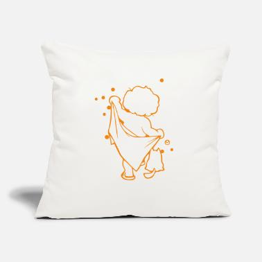 "Baby Shower baby showered - Throw Pillow Cover 18"" x 18"""