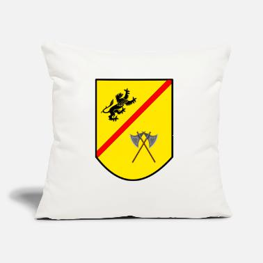 "Coat Coat of arms - Throw Pillow Cover 18"" x 18"""