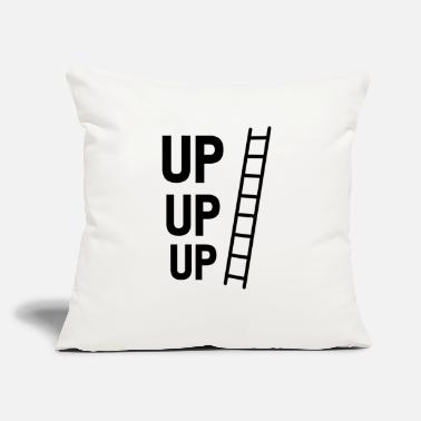 "Up UP UP UP - Throw Pillow Cover 18"" x 18"""