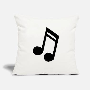 "Note Clue note - Throw Pillow Cover 18"" x 18"""