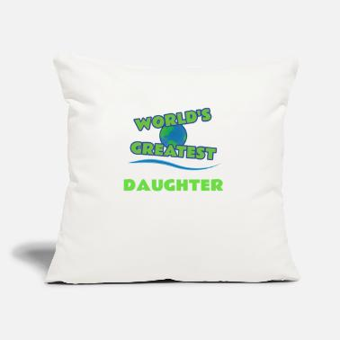 Daughter DAUGHTER - Throw Pillow Cover