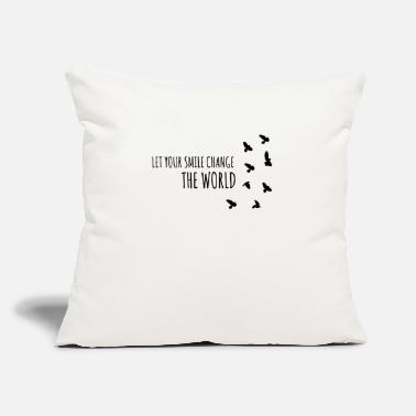 "Inspiration inspire - inspiration - Throw Pillow Cover 18"" x 18"""
