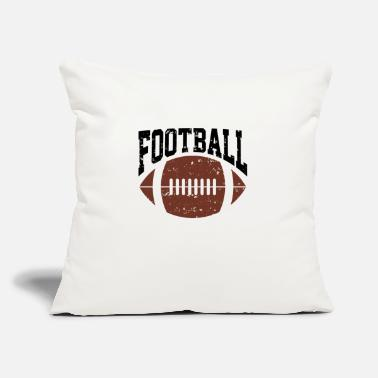 "Football Game Football | Football Game Player | Outdoor Games - Throw Pillow Cover 18"" x 18"""