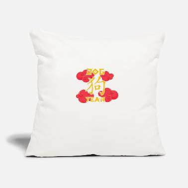 "Chinese Chinese Zodiacs gift for Chinese - Throw Pillow Cover 18"" x 18"""