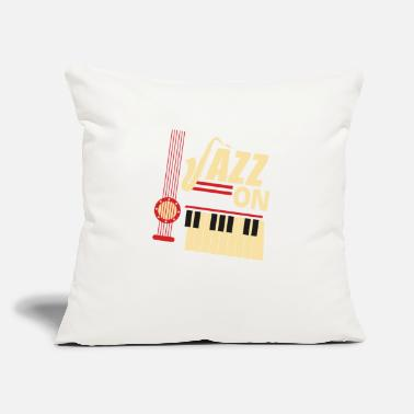 Jazz Jazz On - Throw Pillow Cover