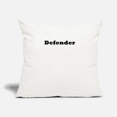 "Defend Defender - Throw Pillow Cover 18"" x 18"""