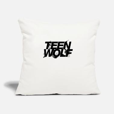 "Teen teen wolf - Throw Pillow Cover 18"" x 18"""