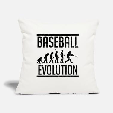 "Cool Baseball Cool Baseball T-Shirt - Throw Pillow Cover 18"" x 18"""