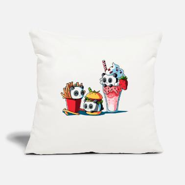 "Meal Combo Meal - Throw Pillow Cover 18"" x 18"""