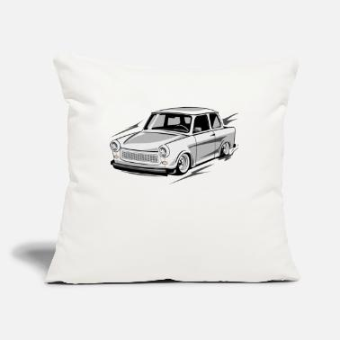 "Carlovers trabant p601 - Throw Pillow Cover 18"" x 18"""
