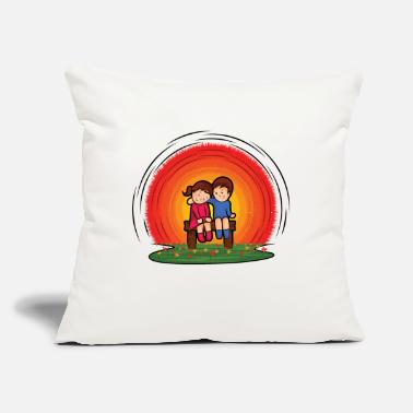 "Children children - Throw Pillow Cover 18"" x 18"""