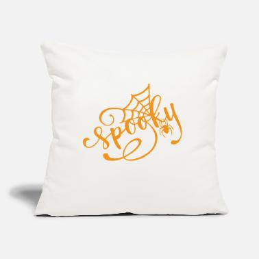 "Spooky Spooky - Throw Pillow Cover 18"" x 18"""